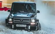 Тест-драйв элегантного  Mercedes-Benz G 55 AMG