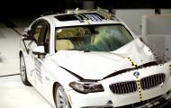 Детальный краш-тест BMW 535i
