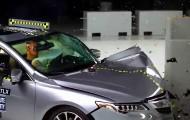Краш-тест автомобиля Acura TLX