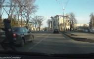 Глупое превышение  скорости