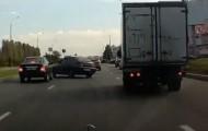 Неожиданные моменты на  дороге