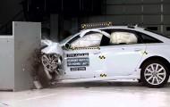 Удачный  краш-тест Audi A6 2016