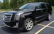 Огромный внедорожник Cadillac Escalade ESV