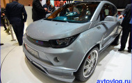 Новое изобретение от швейцарских производителей – автомобиль, оснащенный перемещающимся рулем.