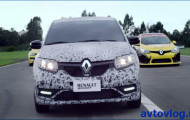 Renault Sandero RS ловкий и быстрый