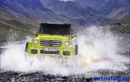 Mercedes-Benz G 500 4×4²: непростая дилемма
