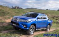 Toyota Hilux: ускоренная встреча