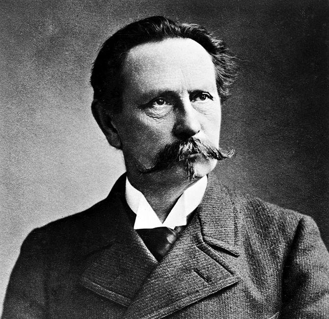 Karl Friedrich Benz, German engineer and motor car manufacturer, c 1900.