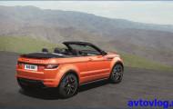 Range Rover: брутальный кабриолет