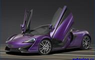 Внедорожник то McLaren