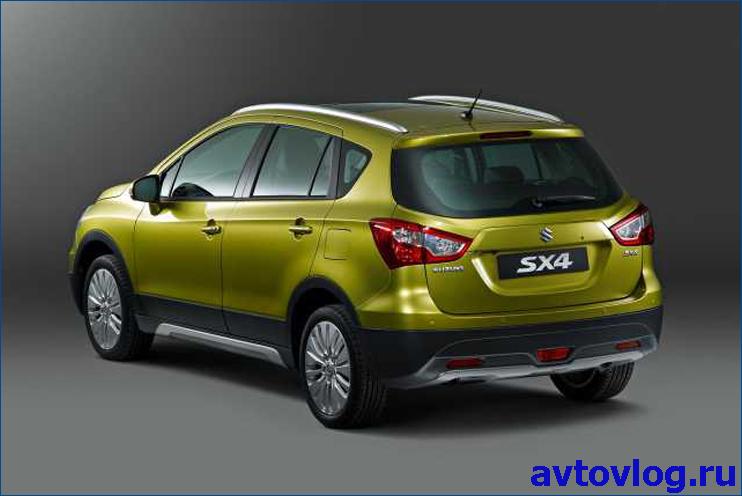 2016-Suzuki-SX4-S-Cross-rear