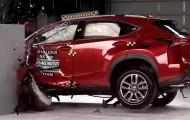 Краш-тест компактного Lexus NX 2015