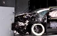 Краш-тест современных  форм Acura MDX