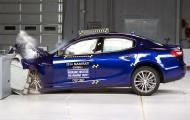 Новый краш-тест Maserati Ghibli