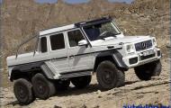 Mercedes-Benz G 63 AMG: сильнее, выше, быстрее…