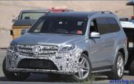 Mercedes-Benz GLS: «предстал в неглиже»