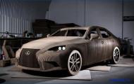 Бумажный Lexus. И такое случается.