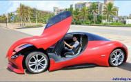 Hainan Xiaohuohua: Китайский электромобиль с необычным дизайном