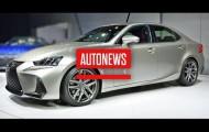 Обновлённый Lexus IS 2017